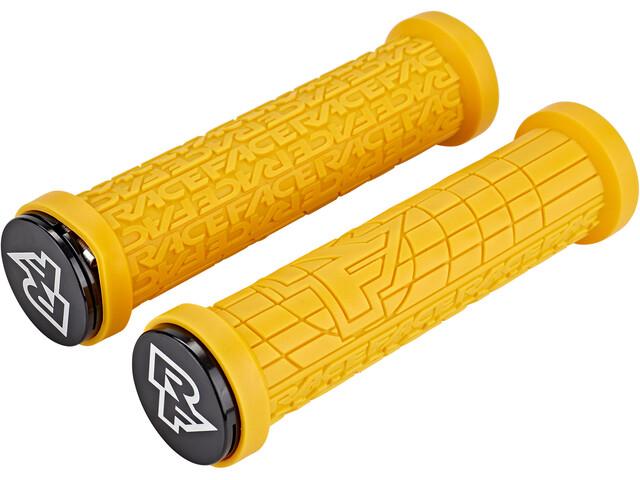 Race Face Grippler Lock-On Grips Limited Edition mustard